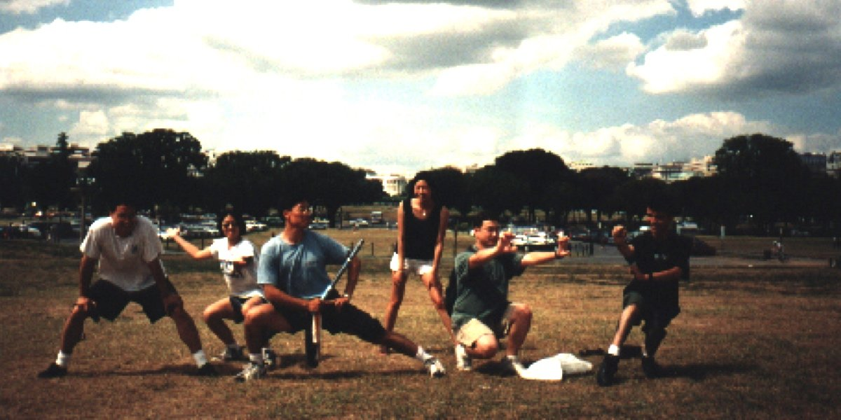 1998 USAWKF Wushu Nationals in Baltimore