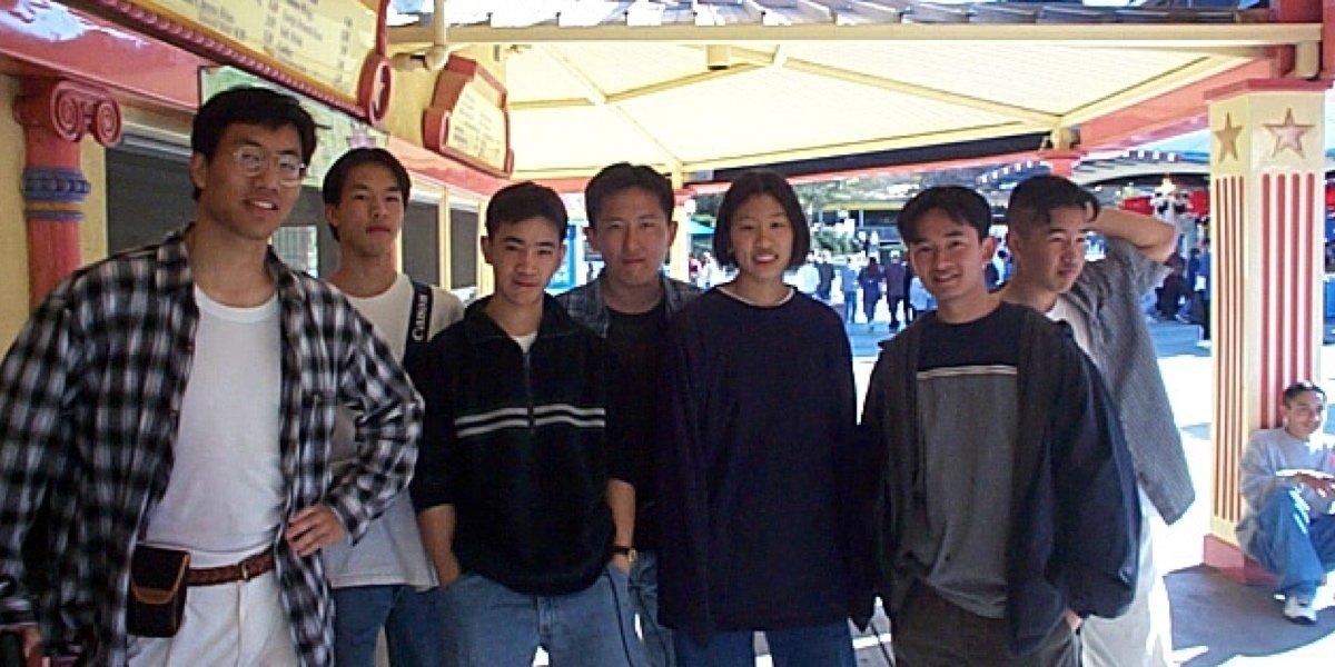 Post-Collegiates Magic Mountain with the Beijing Wushu Team