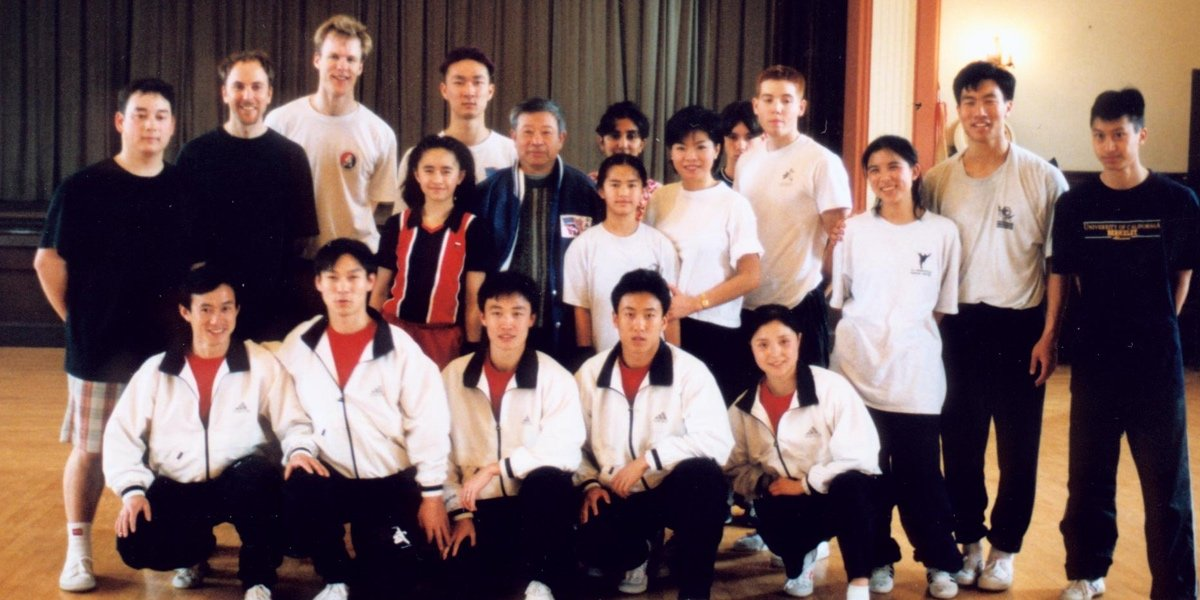 Training with the Beijing Wushu Team in Berkeley (1999)