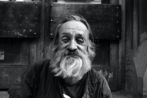 Older man with beard